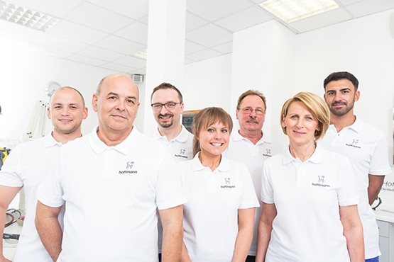 Das Team des Dentallabors Hoffmann
